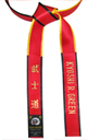 Deluxe Satin Red Master&Shihan Belt
